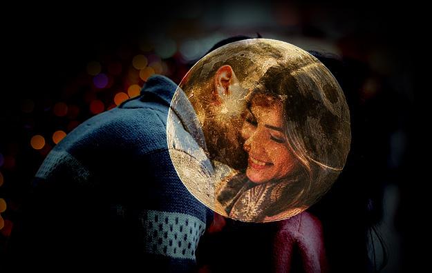 amor bajo la luna