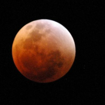 Eclipse, Super Luna Azul de Sangre